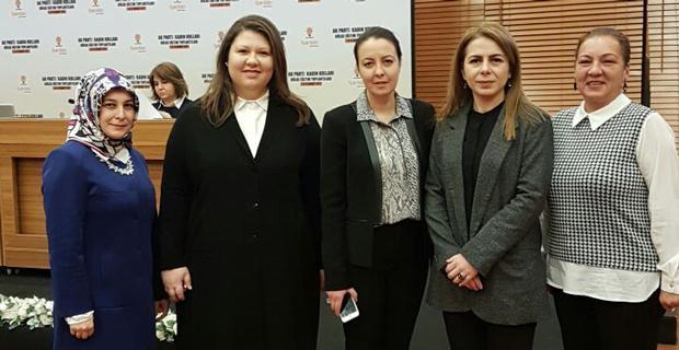 AK Partili kadınlar referanduma hazır