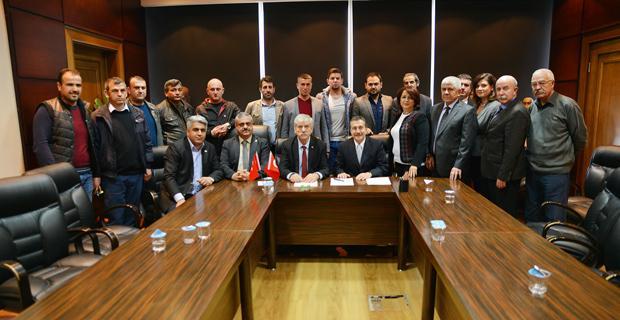 Kani Beko ve Ataç'tan taşeron işçiler için sözleşme