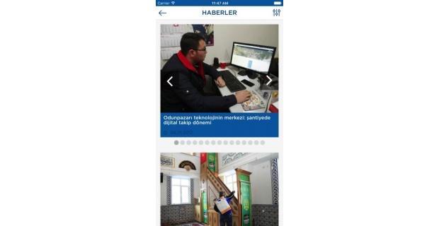 Odunpazarı Belediyesi'nde yenilikçi uygulamalar