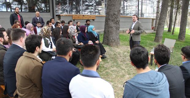 AK Parti Gençlik Kolları Genel Başkanı Eskişehir'de
