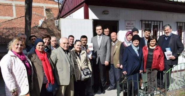 AK Parti Tepebaşı ilçe yönetimi sahaya indi