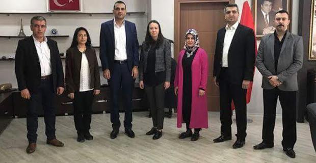 AK Partili kadınlardan taziye ziyareti
