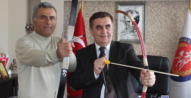 Başkan Gündoğan'dan Okçuluğa destek