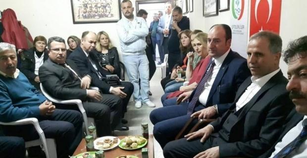 Ak Parti'den Çiftelerliler Derneği'ne 'Evet' ziyareti