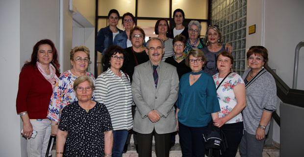 Edirneli Cumhuriyet kadınlarından Büyükerşen'e ziyaret