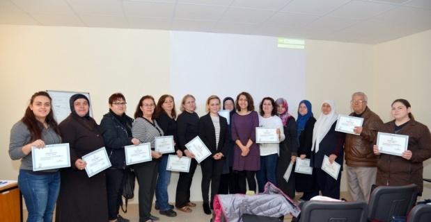 Eskişehir Halk Sağlığı Müdürlüğünde açılan Obezite Okulu mart ayı mezunlarını verdi