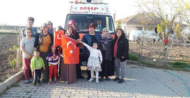 MHP referandum için çalışıyor
