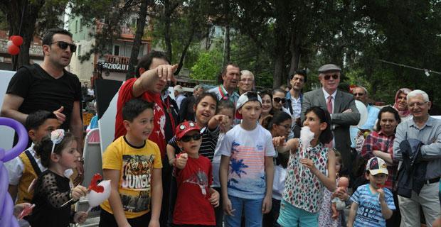 Odunpazarı'nda çocukların 23 Nisan coşkusu