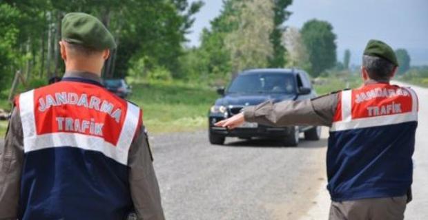 Alkollü sürücüye 5 bin 479 lira para cezası