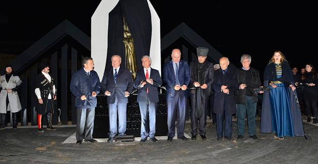 Ataç, Çerkes Sürgünü Anıtı'nın açılışına katıldı
