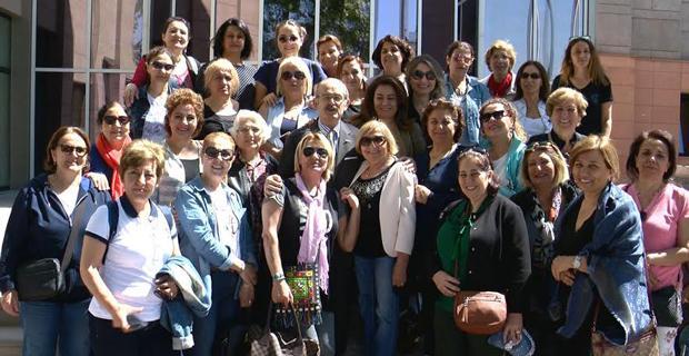 CHP İstanbul kadın kolları Büyükerşen'i ziyaret etti