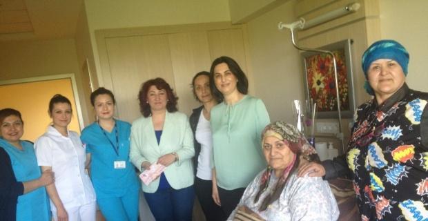 ESOGÜ Hastanesinde Anneler Günü kutlandı