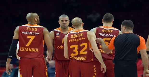 Galatasaray Odeabank dibe vurdu