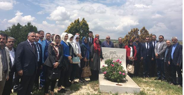 Gün Sazak ölüm yıl dönümünde anıldı
