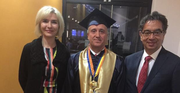 Gündoğan'a UNAD'dan fahri doktora ünvanı
