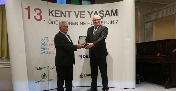 """Hamamyolu Projesine """"En Başarılı Tarihsel Dönüşüm"""" ödülü"""