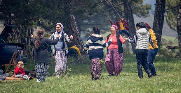 İdrisyayla'da bahar şenliği