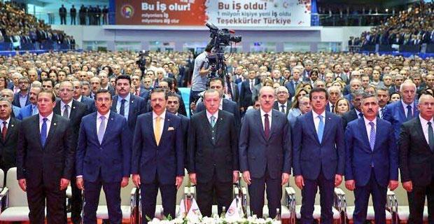 Karacan TOBB'nin 73'üncü Genel Kurulu'nda