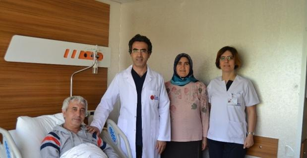 Milli futbolcunun babası böbrek taşından kurtulmak için Eskişehir'i tercih etti