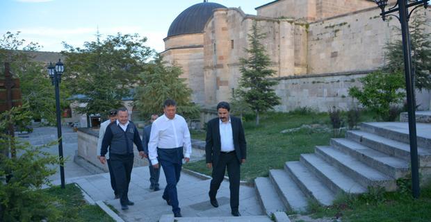 Tümgeneral Akkaya Seyyid Battal Gazi Külliyesinde