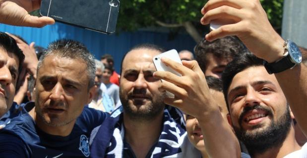 Adana'da Hasan Şaş coşkusu