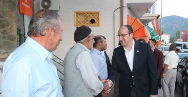 AK Parti Teşkilatı, Sarıcakaya'daki iftar yemeğinde buluştu