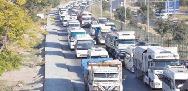Eskişehir'de araç sayısı arttı