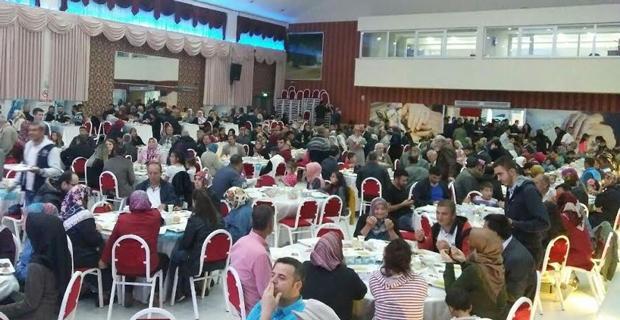 Günyüzülüler'den iftar