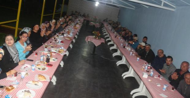 İnönü Belediyesi personeli iftar yemeğinde buluştu