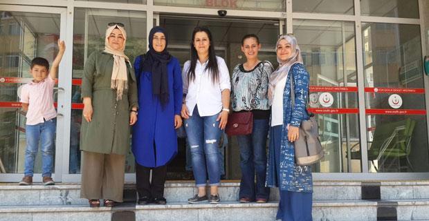 MHP'li kadınlardan hastalara moral ziyareti