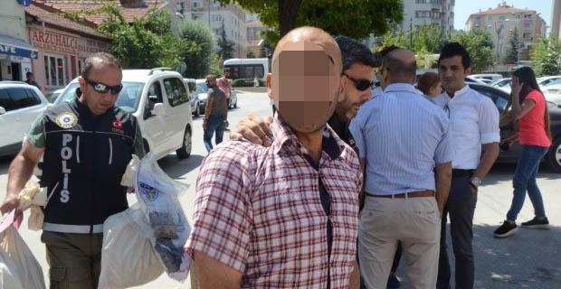 Vatanı kurtardığını iddia eden uyuşturucu satıcısı