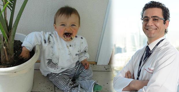 Çocuğunuz toprak kağıt ya da boya yiyorsa…