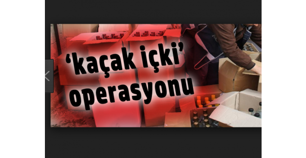 Eskişehir'de kaçak sigara ve içki operasyonu