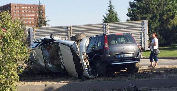 Eskişehir'de korkutan kazalar