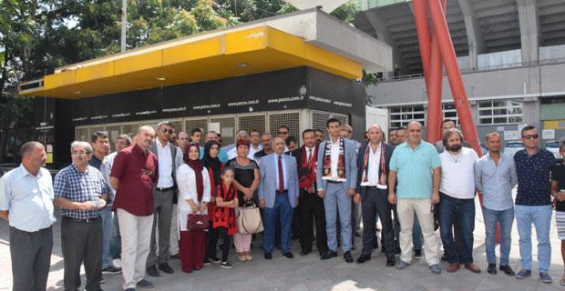 MHP'den Eskişehirspor'a destek