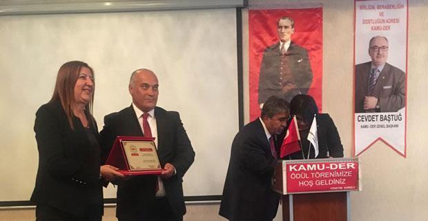 Erdal Şanlı yılın belediye başkanı