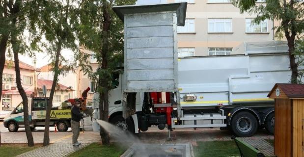 Hijyenik ve modern bir çöp toplama sistemi