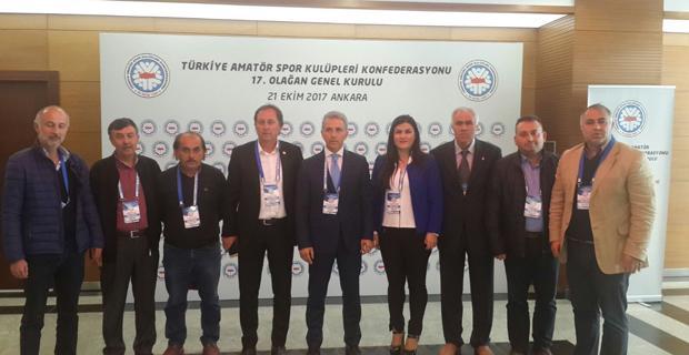 Sadri Atam Federasyon yönetiminde