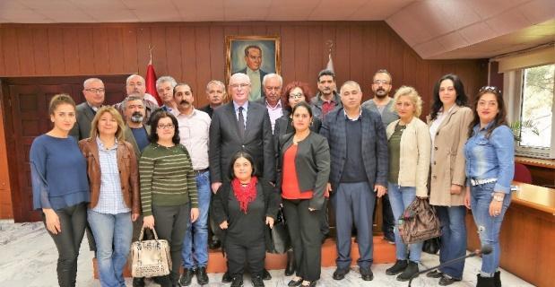 Mahalle Meclisleri Başkan Kurt'u ziyaret etti