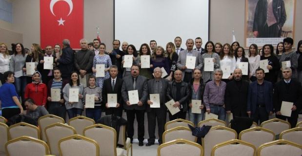 Uzlaştırmacılar sertifikalarına kavuştu