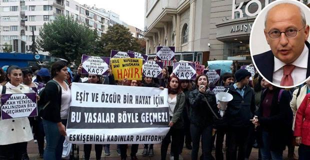 40 kadına verilen cezayı meclise taşıyor