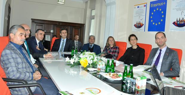 AB Bakanlığı Müsteşar Yardımcısı Yücel, Tarım İl Müdürlüğünü ziyaret etti