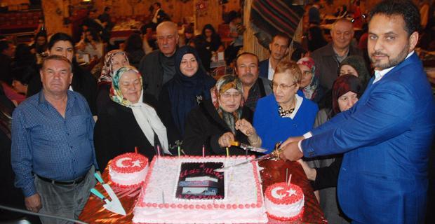 Cigerci Aziz'den alkışlanacak kutlama
