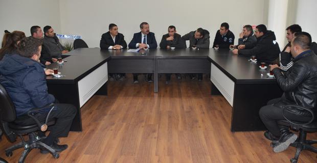 Şeker işçileri CHP'yi ziyaret etti