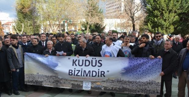 Trump ve BM'ye bir tepki de Eskişehir'den
