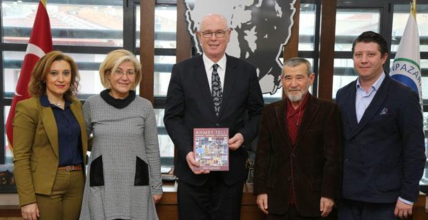 Ahmet Telli Eskişehir'de