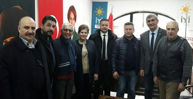 Bey-Der'den İYİ Parti'ye ziyaret