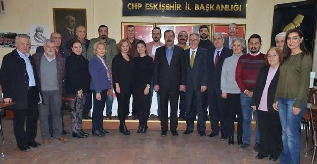 Dalgıç'tan Özkar'a tebrik ziyareti