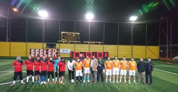 Efeler Taraftar Derneği'nin düzenlediği turnuvada ilk maçlar tamamlandı