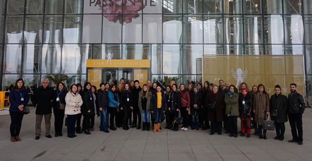 ETO'nun gelinlik sektöründeki üyeleri İzmir'de